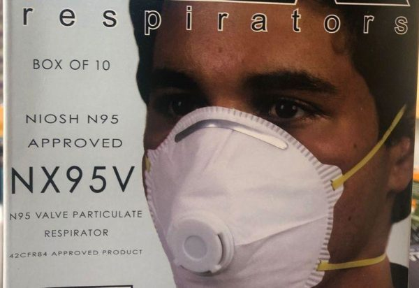 N95 Respiratory Mask with Valve
