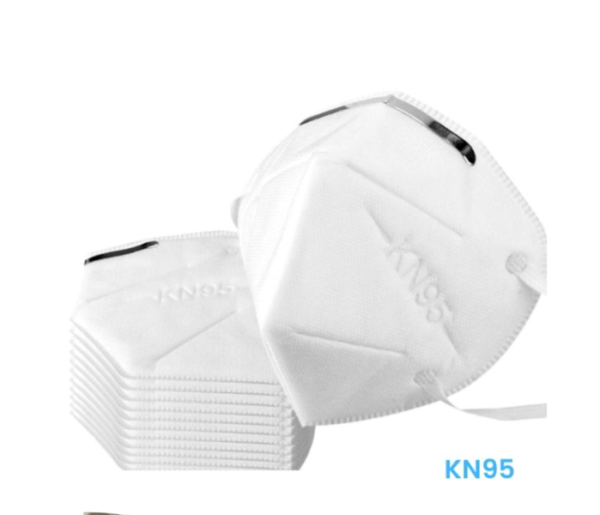 KN95 Face Mask 5 Layers Cup Dust Mask, Protection Breatable Mask